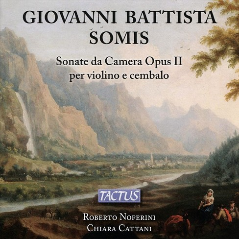 Roberto noferini - Somis:Sonate da camera for violin & c (CD) - image 1 of 1