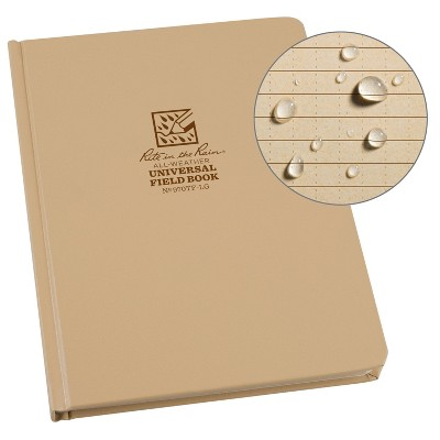 "Casebound Notebook Special Ruled 6.75"" x 8.75"" Tan - Rite in the Rain"