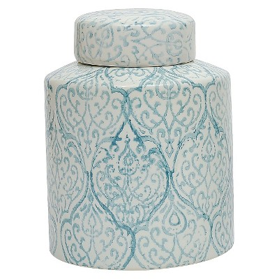 Ceramic Ginger Jar (10-1/8 )