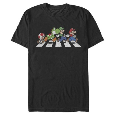 Men's Nintendo Mario Bros. Crosswalk T-Shirt