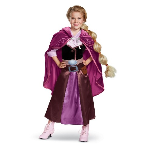 Toddler Girls' Disney Princess Rapunzel Halloween Costume 3T-4T Green - image 1 of 1