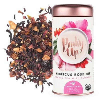 Pinky Up Hibiscus Rosehip Loose Leaf Tea - 3.2oz