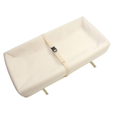 Naturepedic Organic Cotton Contour Changing Pad -White