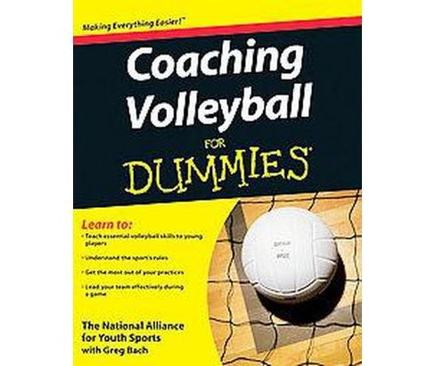 Coaching Volleyball for Dummies (Paperback) - image 1 of 1