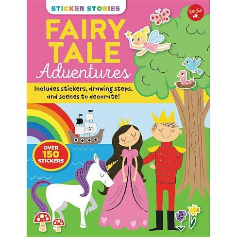 Sticker Stories: Fairy Tale Adventures - (Paperback) - image 1 of 1