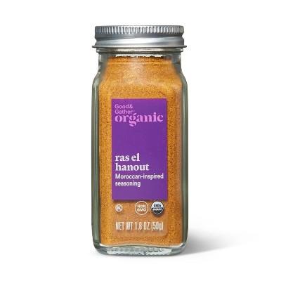 Organic Moroccan Inspired Ras El Hanout Seasoning - 1.9oz - Good & Gather™