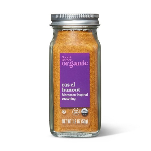 Organic Moroccan Inspired Ras El Hanout Seasoning - 1.9oz - Good & Gather™ - image 1 of 2