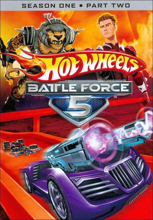 Hot wheels battle force 5:S1p2 (DVD) - image 1 of 1