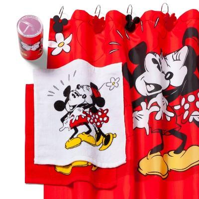 Mickey Mouse & Friends Mickey/Minnie Hard Goods Bath Coordinate Set