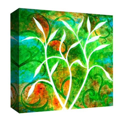 "Fluorescent White Decorative Canvas Wall Art 16""x16"" - PTM Images - image 1 of 1"