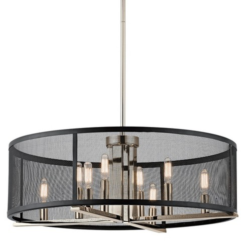 """Kichler 43715 Titus 8 Light 25"""" Wide Chandelier with Metal Shade - image 1 of 4"""
