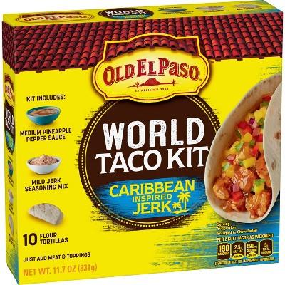 Old El Paso Dinner Kit Caribbean Taco - 11.7oz