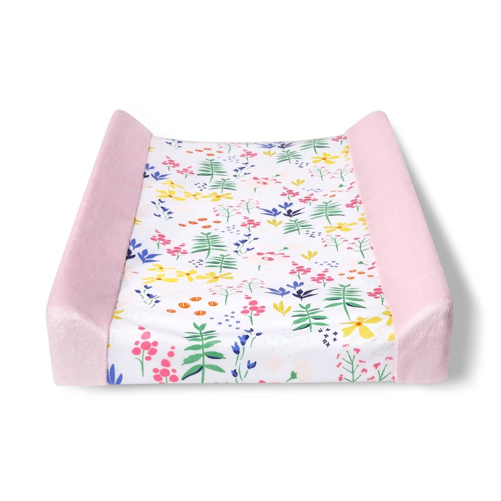 Changing Pad Cover Wildflower Cloud Island 8482 Pink Floral