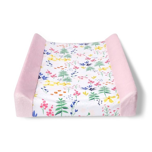Changing Pad Cover Wildflower - Cloud Island™ Pink Floral - image 1 of 2