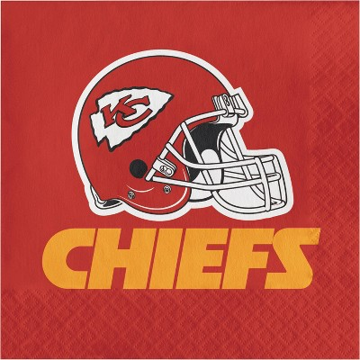 48ct Kansas City Chiefs Football Napkins