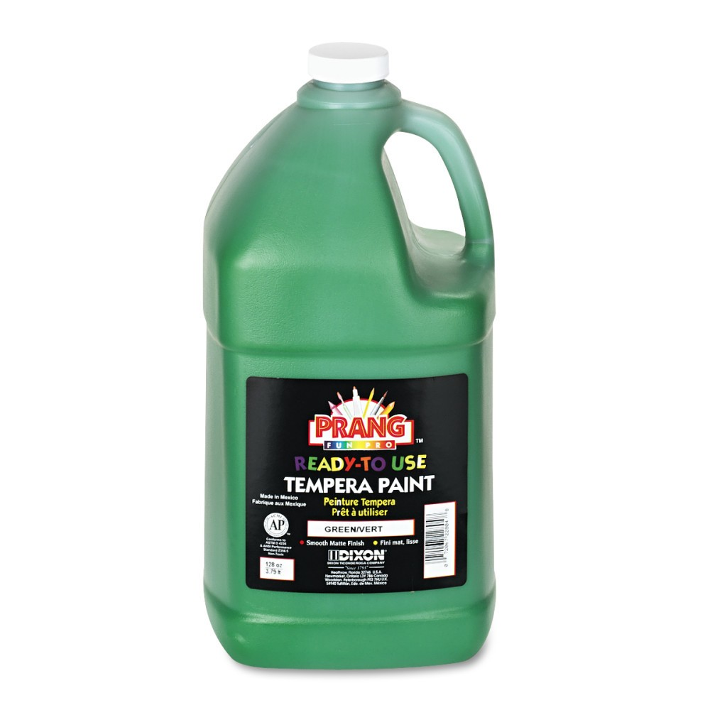 Image of 1gal Tempera Paint Ready-to-Use Green - Prang