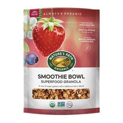 Nature's Path Smoothie Bowl Superfood Granola - 9.5oz