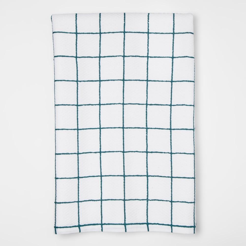 Green Plaid Kitchen Towel - Project 62