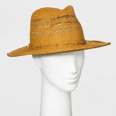 Women's Straw Rancher Hat - Universal Thread™ Brown