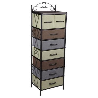 Household Essentials® 7 Tier Vertical Storage Drawer Unit