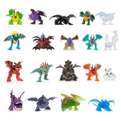 DreamWorks Dragons Legends Evolved Mystery Dragon Mini Collectible Figure (Style May Vary)