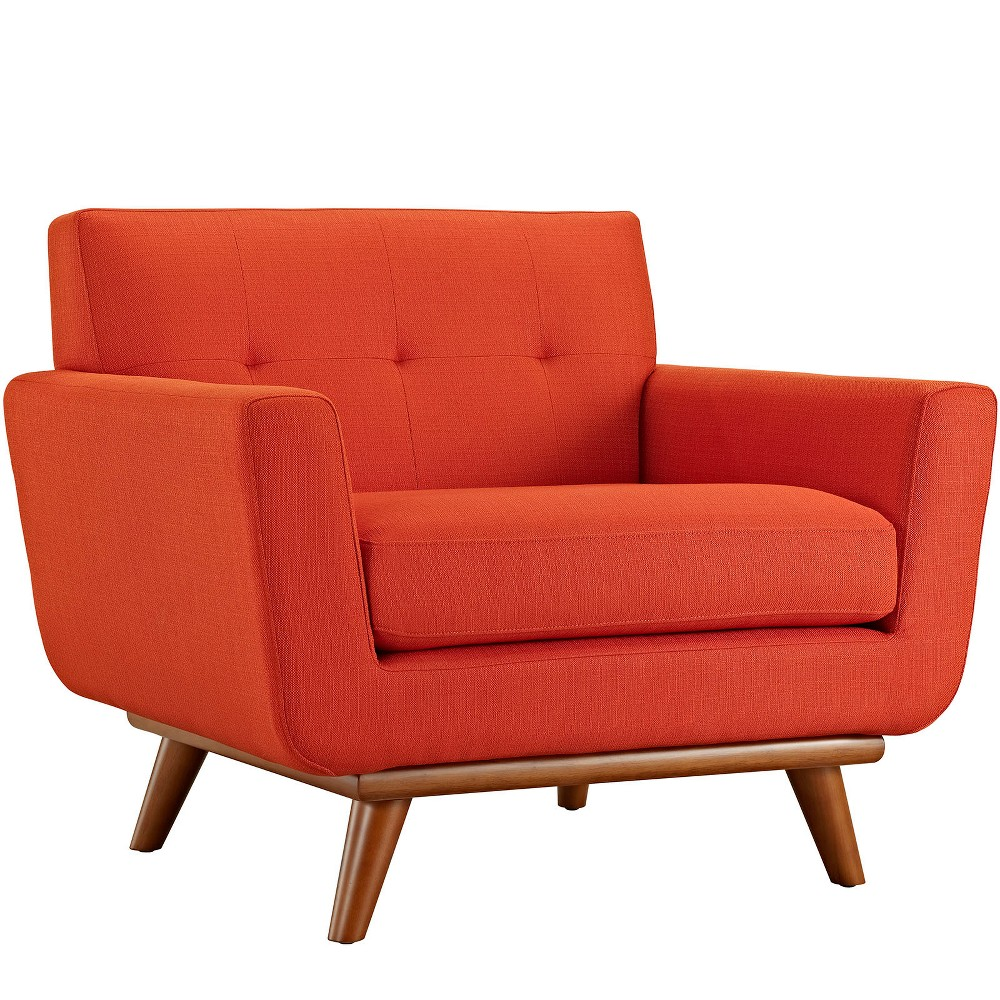 Engage Upholstered Armchair Atomic Red - Modway