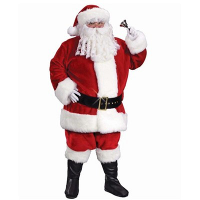 Fun World Red and White Little Miss Santa Girl Children's Christmas Costume - 2T