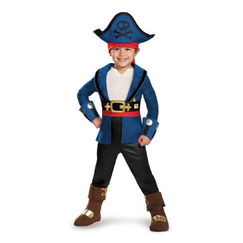 Kids' Captain Jake Deluxe Costume Small 4-6 - image 1 of 1