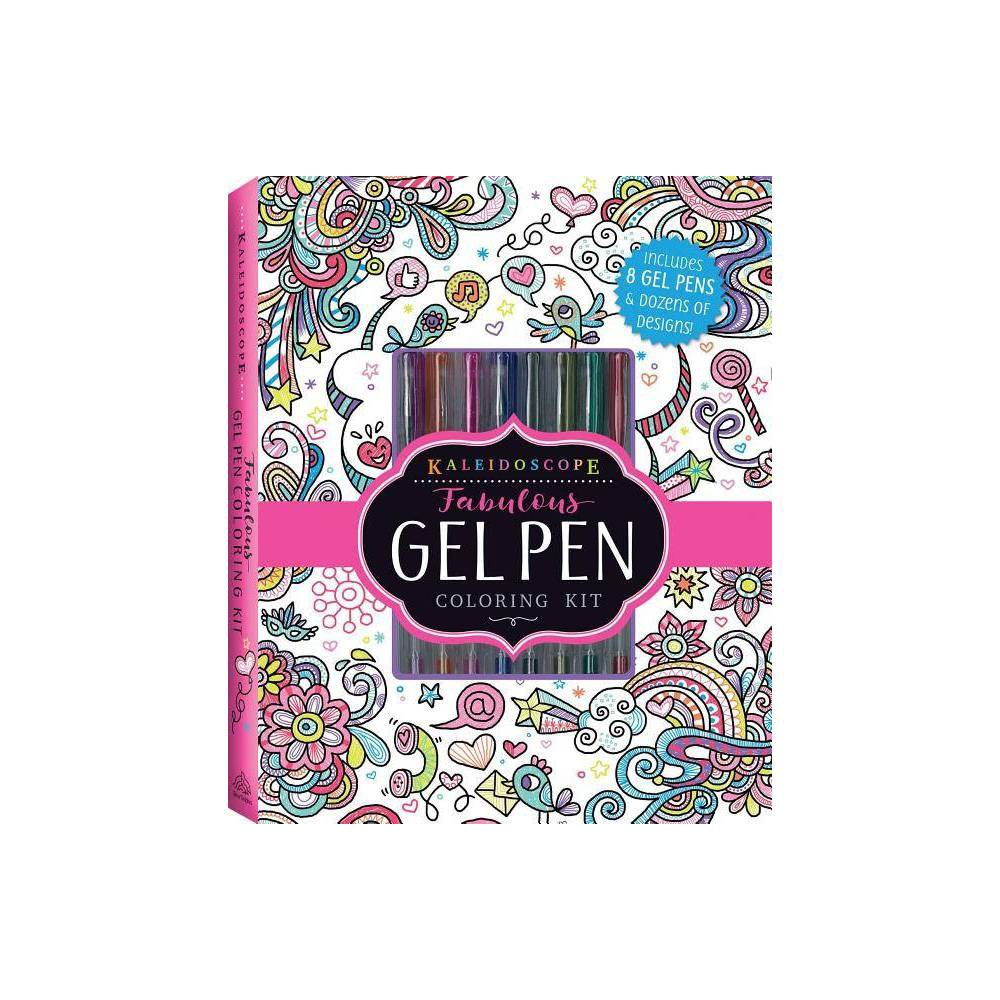 ISBN 9781684123070 product image for Kaleidoscope: Fabulous Gel Pen Coloring Kit - by Editors of Silver Dolphin Books | upcitemdb.com