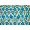 Paso Caribe Outdoor Chaise Lounge Cushion Blue - Pillow Perfect - image 2 of 2