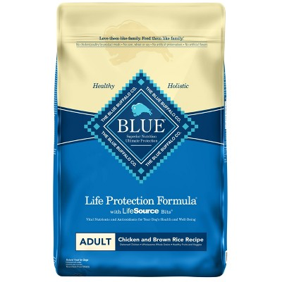 Blue Buffalo Life Protection Chicken & Brown Rice Recipe Adult Dry Dog Food - 24lbs