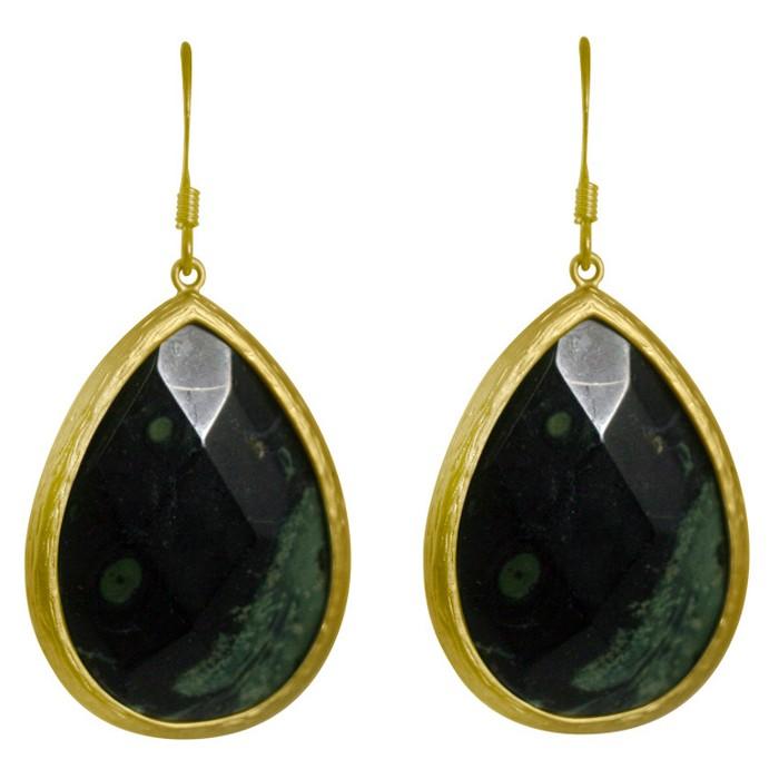 Zirconite® Long Elongated Pear Shape Drop Earring - image 1 of 1