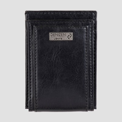 DENIZEN® from Levi's® Men's Front-Pocket RFID Wallet - Black One Size