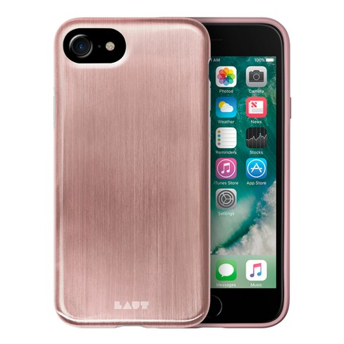 LAUT Apple iPhone 8 Plus/7 Plus/6s Plus/6 Plus Case Metallic - Rose Gold - image 1 of 3