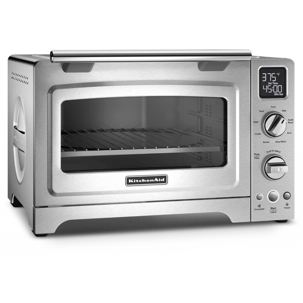 KitchenAid 12 Convection Digital Countertop Oven – KCO275, Silver 49154094
