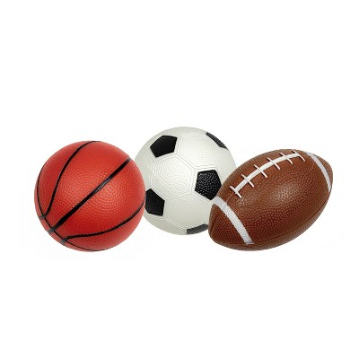 Pool Central Set of 3 Pebble Textured PVC Sports Water Sports Balls