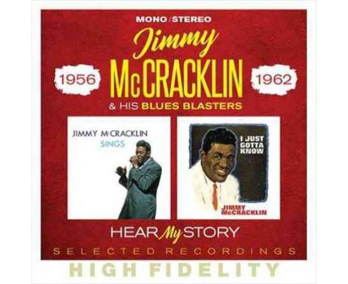 Jimmy Mccracklin - Hear My Story Selected Recordings 195 (CD) - image 1 of 1