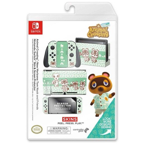 Animal Crossing New Horizon Tom Nook And Friends Skin And Screen