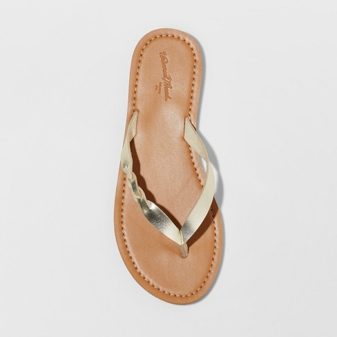 b4fea2366 Women s Bobbie Braided Thong Flip Flop Sandals - Universal Thread™. Shop  all Universal Thread