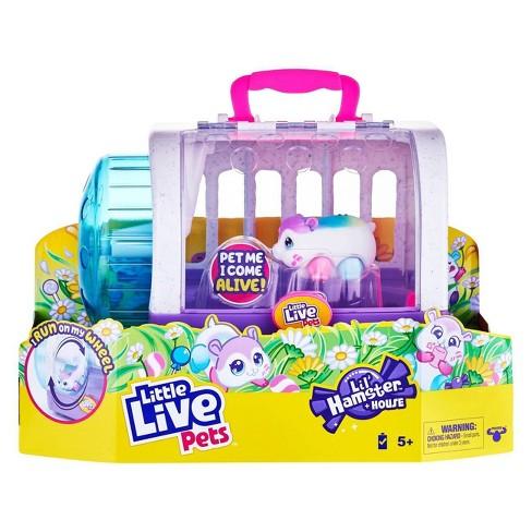 Little Live Pets Lil' Hamster + House - image 1 of 4