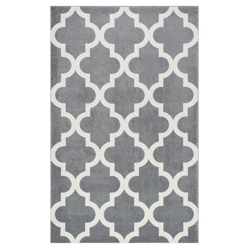 Abstract Loomed Area Rug - nuLOOM - image 1 of 2