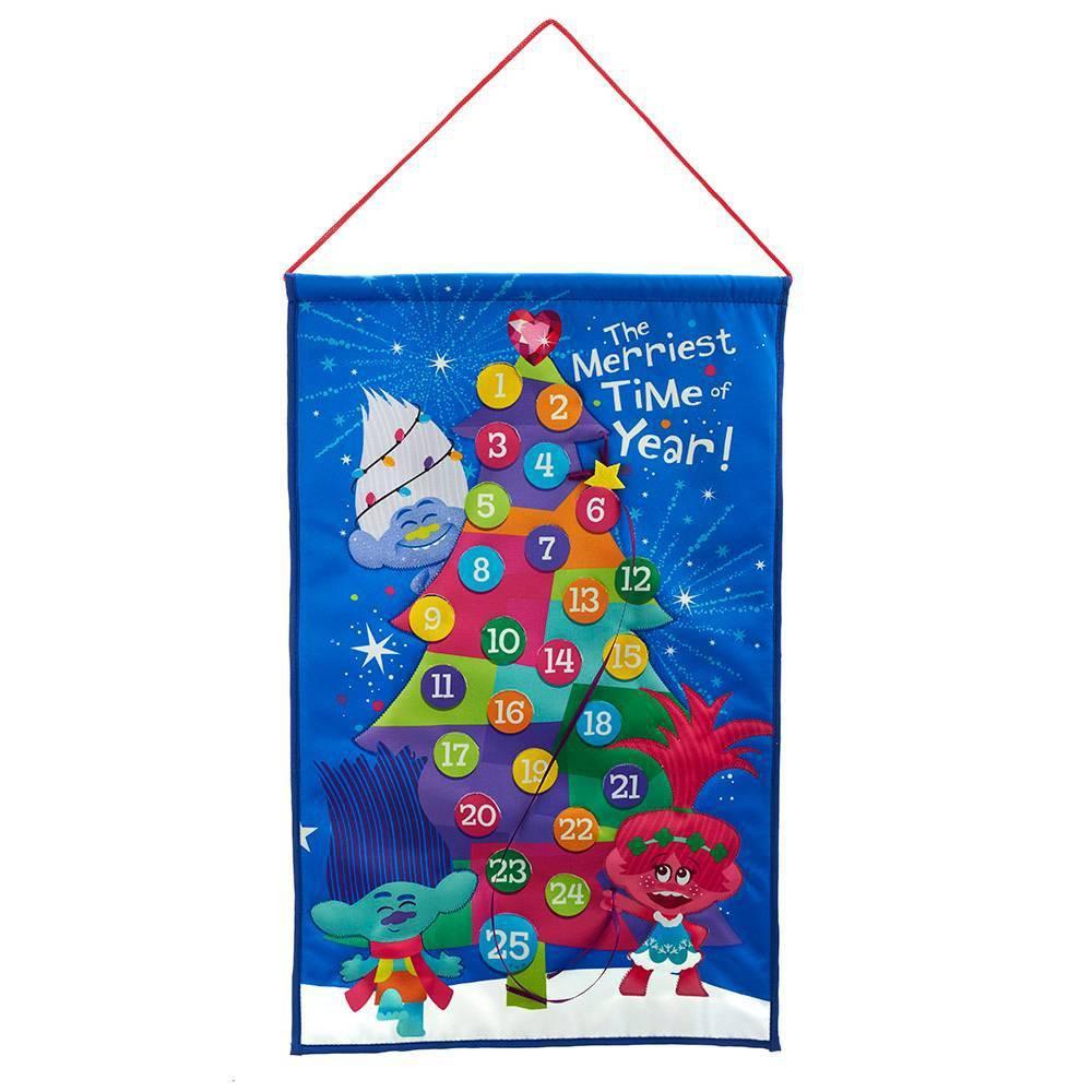 "Image of ""Kurt Adler 19"""" Fabric Trolls Advent Calendar"""