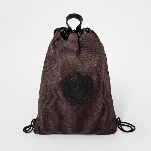 Boys' Corduroy Drawstring Backpack - art class™ Brown - image 1 of 2