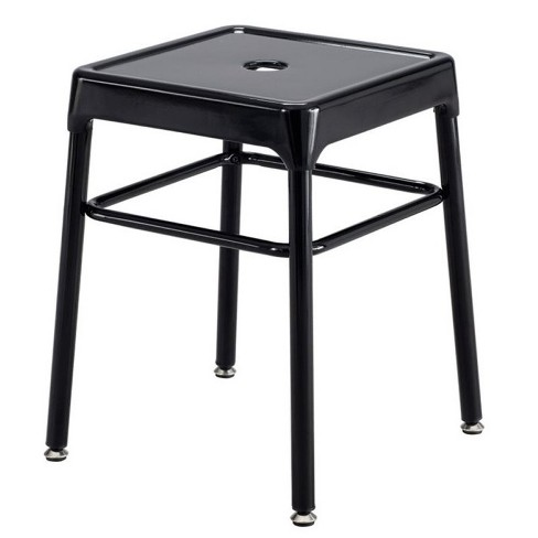 Tremendous Steel 18 Guest Stool In Black Safco Alphanode Cool Chair Designs And Ideas Alphanodeonline