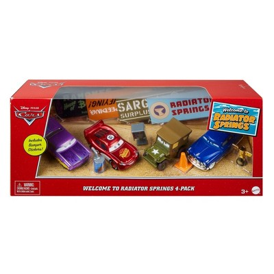Disney Pixar Cars Welcome to Radiator Springs Vehicle 4pk