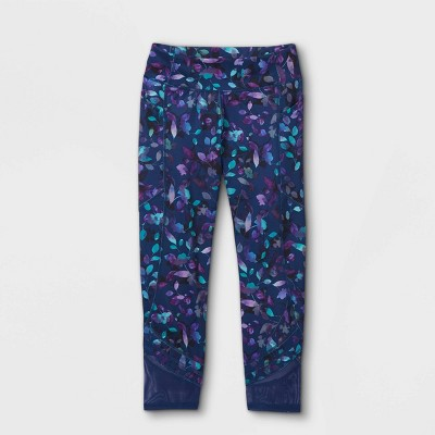Girls' Side Pocket Capri Leggings - All in Motion™