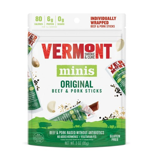 Vermont Smoke & Cure Original Beef & Pork Sticks Multipack 6ct / .05oz - image 1 of 2