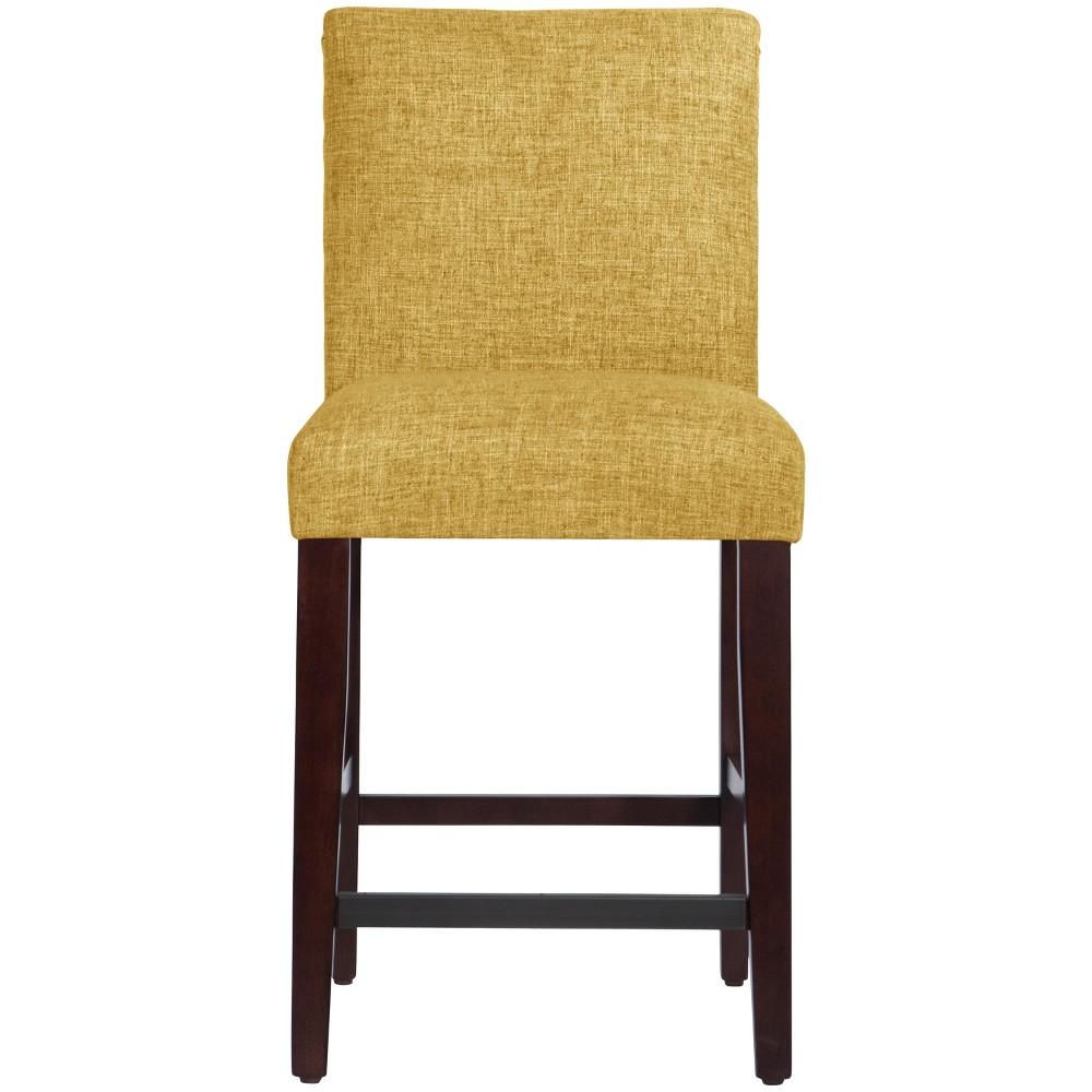 Parsons Counter Stool Golden Yellow Linen - Threshold
