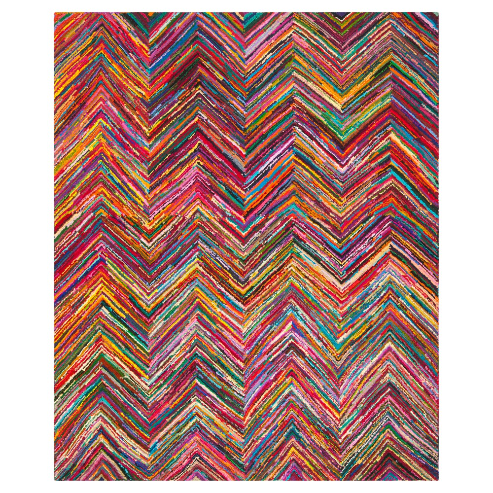 Morgan Area Rug - Pink/Multi - (6'x9') - Safavieh, Pink/Multi-Colored