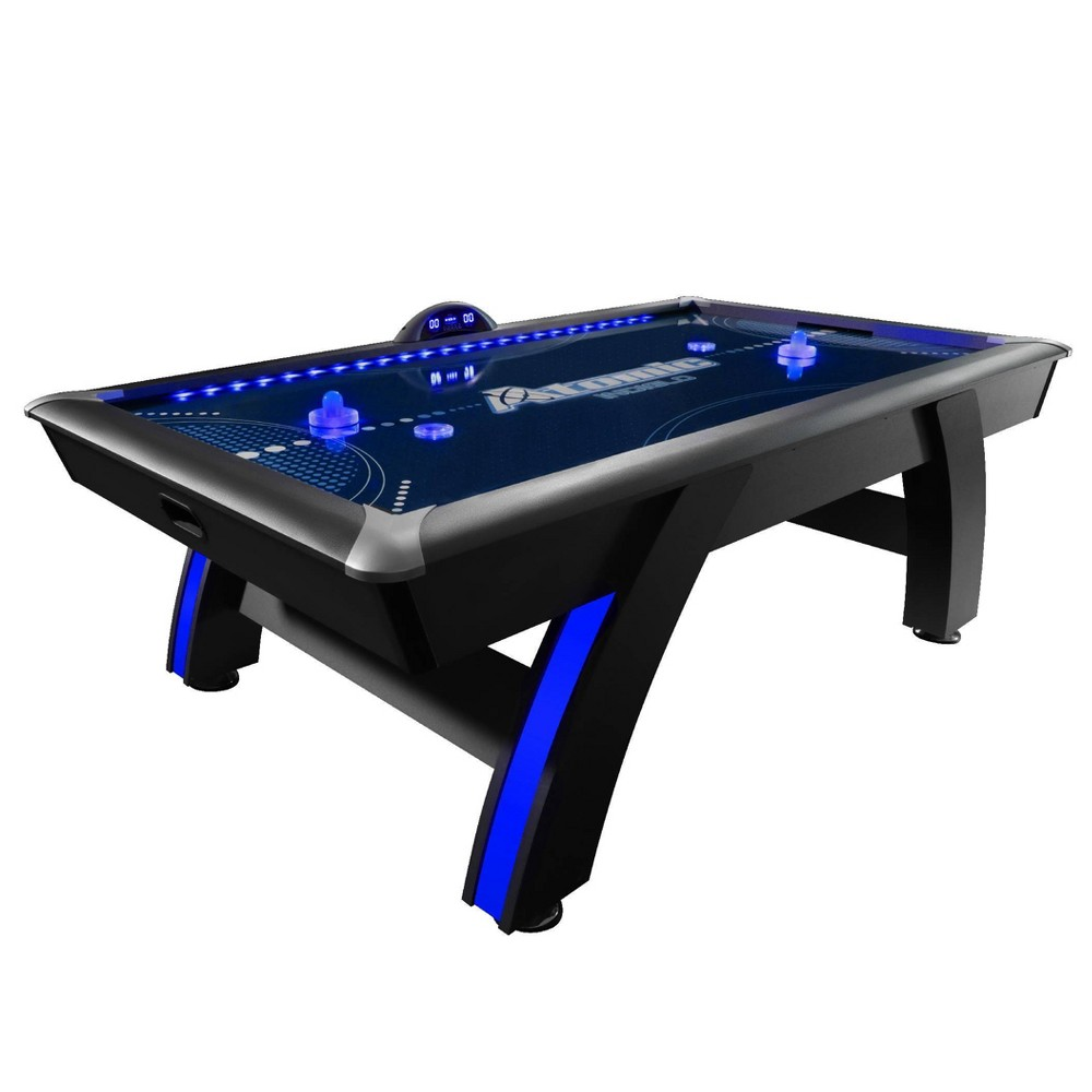 Atomic 90 34 Indiglo Led Air Hockey Table